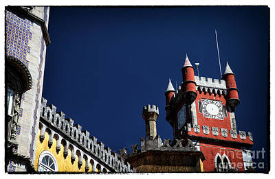 Photograph - Red Tower Of Pena Palace by John Rizzuto