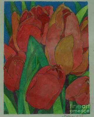 Photograph - Red Tulip by Diane montana Jansson
