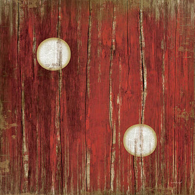 Man Cave Painting - Red Two by Jennifer Pugh