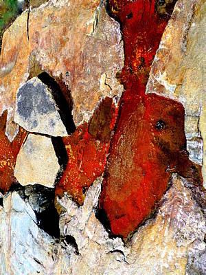 Red Veins Art Print