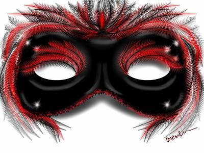 Christina Digital Art - Red Velvet by Christina Kulzer