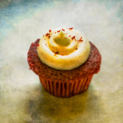 Photograph - Red Velvet Cupcake by YoPedro