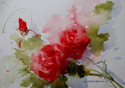 Painting - Red Velvet by Sandra Strohschein