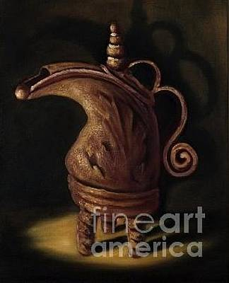 Painting - Red Vessel by Randol Burns