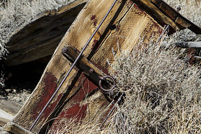 Photograph - Red Wagon by Denise Dube