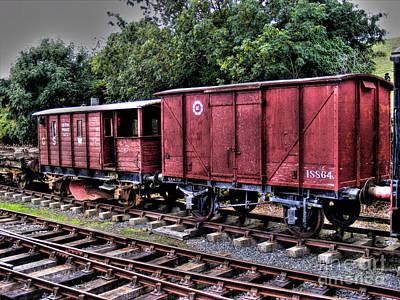 Photograph - Red Wagon by Nina Ficur Feenan
