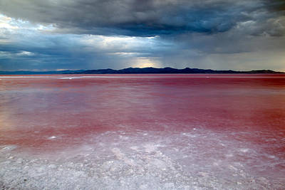 Photograph - Red Water by Darryl Wilkinson