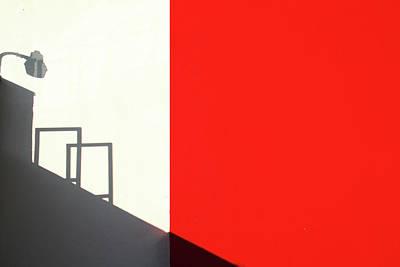 Minimal Photograph - Red Westwood by Roxana Labagnara