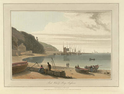 Cymru Photograph - Red Wharf Bay On Anglesey by British Library