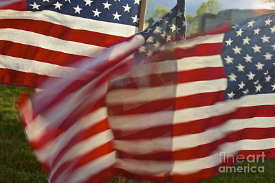 Photograph - Red White And Blue by Amazing Jules