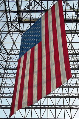 Photograph - Red White And Blue by Georgia Hamlin