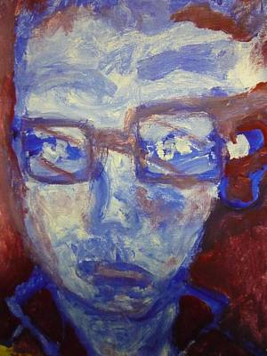 Painting - Red White And Blue by Shea Holliman