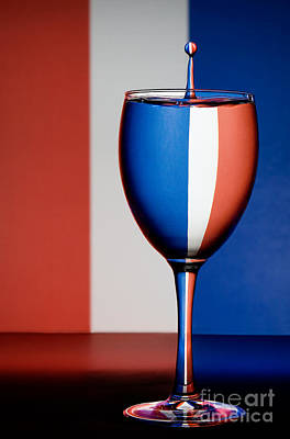 Photograph - Red White And Blue by Susan Candelario