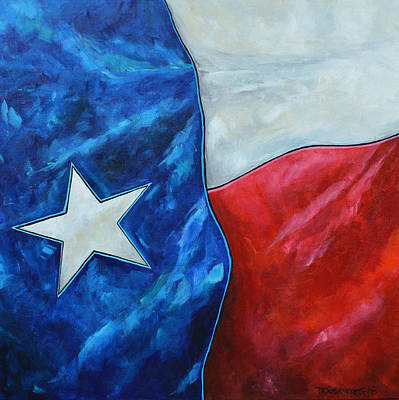 Painting - Red White And Texas by Patti Schermerhorn