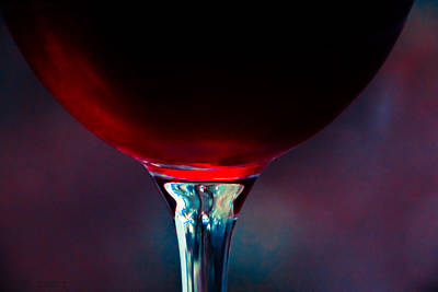 Photograph - Red Wine by Cindi Castro