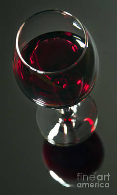 Photograph - Red Wine Beverage by Glenn Gordon