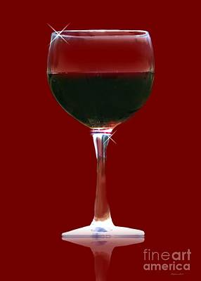 Zinfandel Photograph - Red Wine by Stephanie Laird