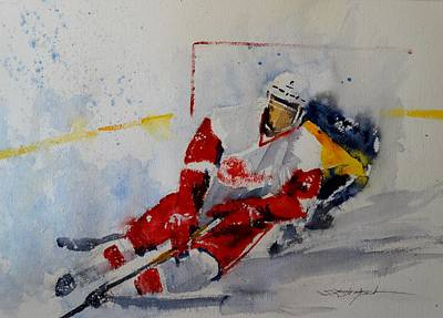 Red Wings Original by Sandra Strohschein