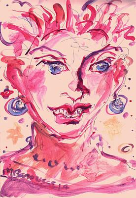 Red Woman Original by Melissa Sarat