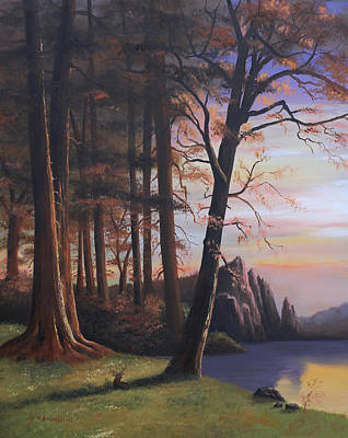 Painting - Redwood Forest II by Cecilia Brendel