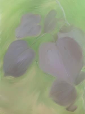Red Leaf Digital Art - Redbud Spring  by Heidi Smith