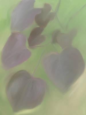 Red Leaf Digital Art - Redbud Spring II  by Heidi Smith
