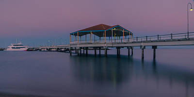 Photograph - Redcliffe Pier by Peter Lombard