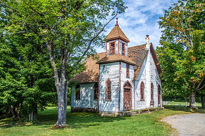 Photograph - Redclyffe Church by Guy Whiteley