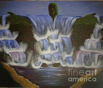 Painting - Redeemer Falls  by Tracey Williams