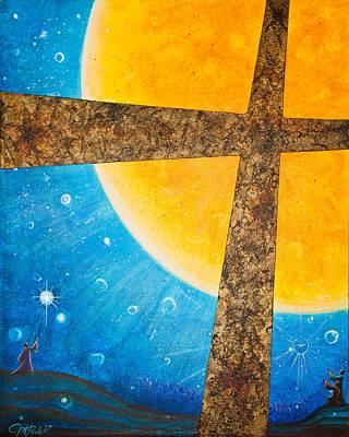 Painting - Redeemer II by Margarita Puckett