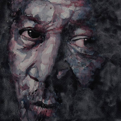 Icon Painting - Redemption Man by Paul Lovering