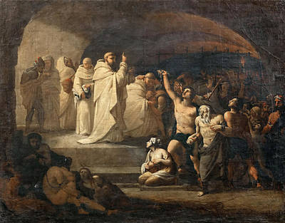 Redemption Painting - Redemption Of The Captives In Times Of Charles IIi by Jose Aparicio