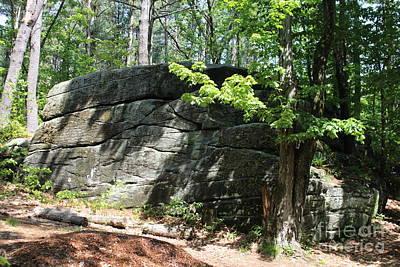 Redemption Rock Princeton Massachusetts Art Print