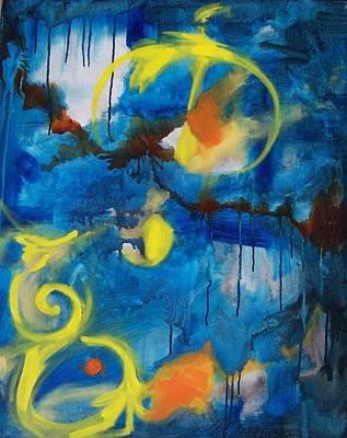 Painting - Redeem by Liz Adkinson