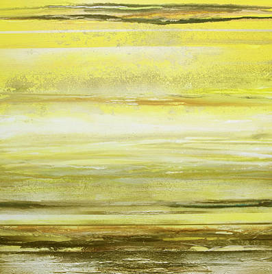Mixed Media - Redesdale Rhythms And  Textures Yellow And Sepia by Mike   Bell
