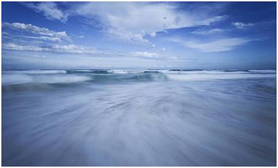 Photograph - Redhead Beach by Steve Caldwell