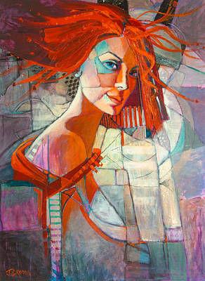 Painting - Redhead by Jennifer Croom