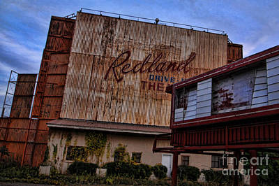 Photograph - Redland Drive In Theatre by Audreen Gieger