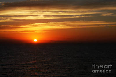 Photograph - Redline Horizon by Tom Griffithe