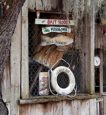 Photograph - Redneck Bait Shop - Florida by John Black