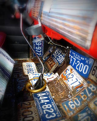 Photograph - Redneck Truck Floor by Cindy Wright