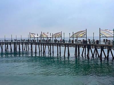 Redondo Beach Pier Wall Art - Photograph - Redondo Beach Pier by Art Block Collections