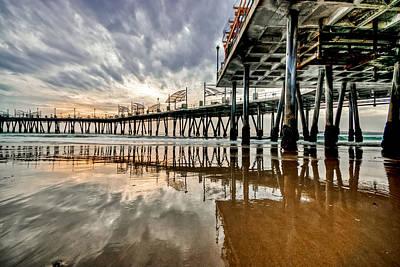 Redondo Beach Pier Wall Art - Photograph - Redondo Beach Pier Series by Josh Whalen
