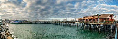 Redondo Beach Pier Wall Art - Photograph - Redondo Beach Pier Sunrise by Josh Whalen