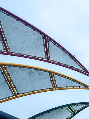 Redondo Beach Pier Wall Art - Photograph - Redondo Beach Sails by Art Block Collections