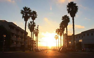 Photograph - Redondo Beach Sunset by Daniel Schubarth