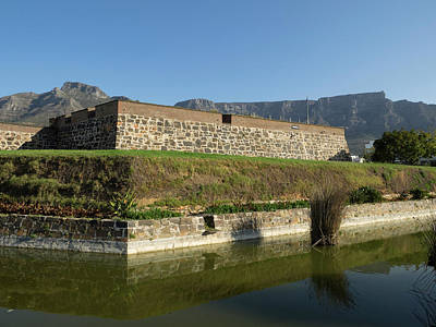 Castle Photograph - Redoubt Of Castle Of Good Hope by Panoramic Images