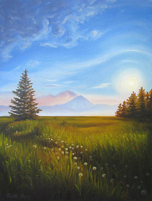 Painting - Redoubt by Ruth Hulbert