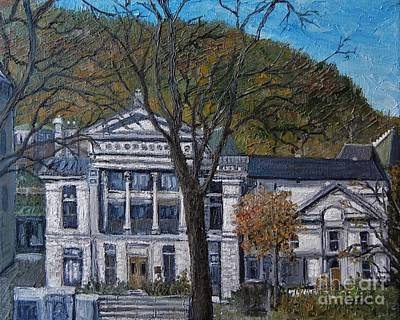 Quebec Painting - Redpath Museum by Reb Frost