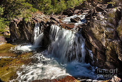 Photograph - Redrock Falls by Robert Bales